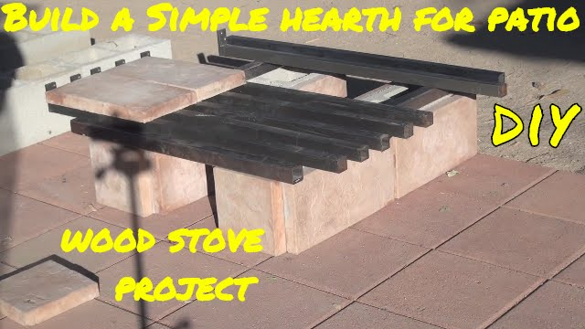 Delightful Make Patio Wood Stove Hearth U0026 HOW I LIGHT My FIRES, Wood Burning Stove  PROJECT   YouTube