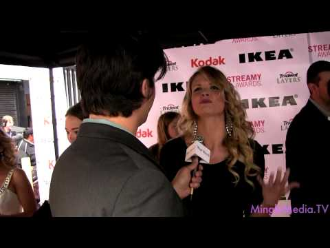 Valerie Azlynn @ 2nd Annual Streamy Awards LIVE from the Red Carpet