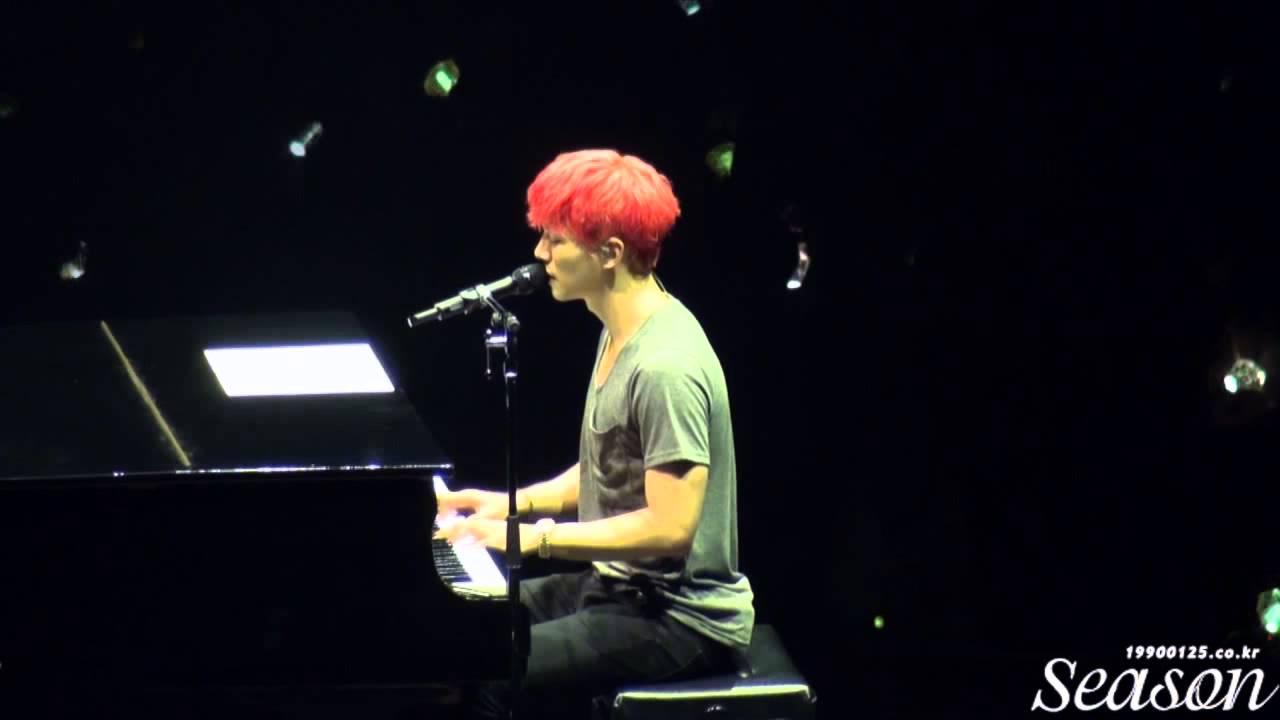 """150805 JUNHO SOLO TOUR """"LAST NIGHT"""" - Believe 준호 직캠"""
