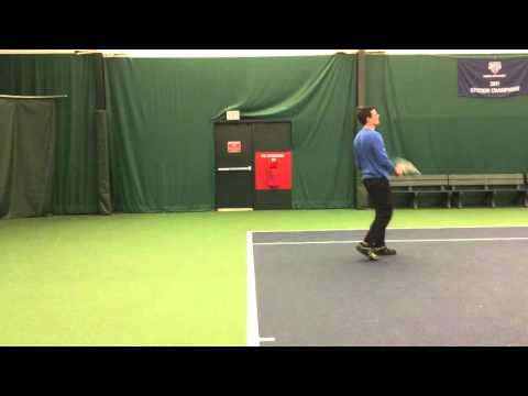 Scott: Serve & Recovery footwork