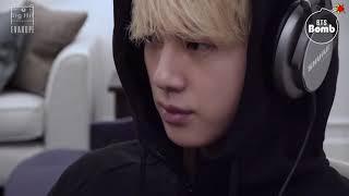 【繁中字幕】BTS 防彈少年團 #BANGTANBOMB - Jin, Recording his first ever composition(更正CC)