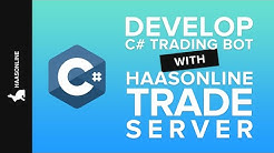 C# Crypto Trading Bot - Develop a custom trading bot with a C# wrapper with HaasOnline