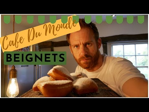 CafeDu Mond Style Doughnuts From The Movie Chef!