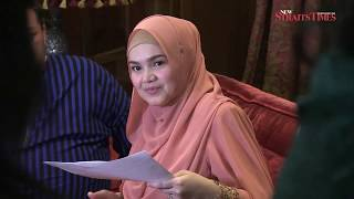 Siti Nurhaliza is four months pregnant!