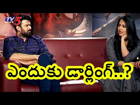 Anushka Shetty Praises Prabhas Personally | TV5 News