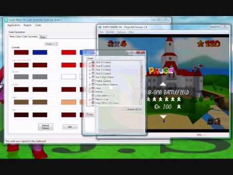 Super Mario 64 Code Generator Suite Version 0 1