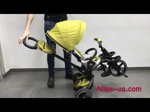 Детский трехколесный велосипед Modi Crosser T 600 на алюминиевой раме