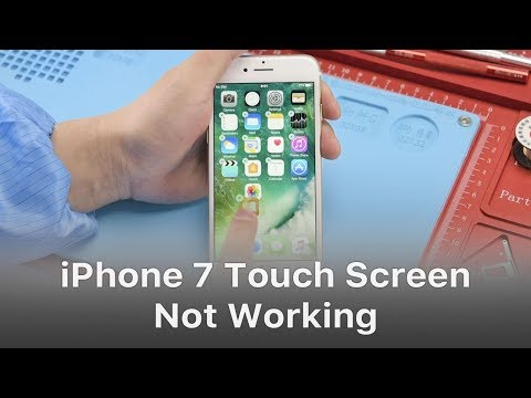 iphone not working how to repair iphone 7 touch screen not working 12090