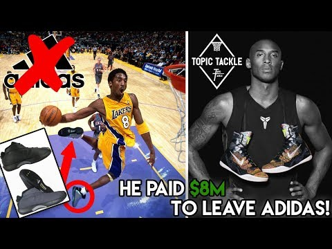 The REAL Reason Why Kobe Bryant Left Adidas For Nike