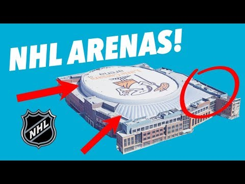 CRITIQUING ALL 31 NHL ARENAS - Secrets and Hidden Gems