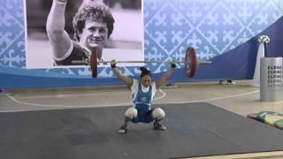 Сборная Казахстана по тяжелой атлетике начала первый в этом году УТС (27.01.16)