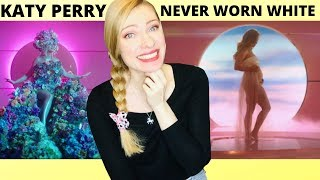 Vocal Coach/Musician Reacts: KATY PERRY - Never Worn White (Official Video)