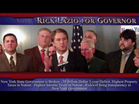 Rick Lazio For Governor Of New York Part 1