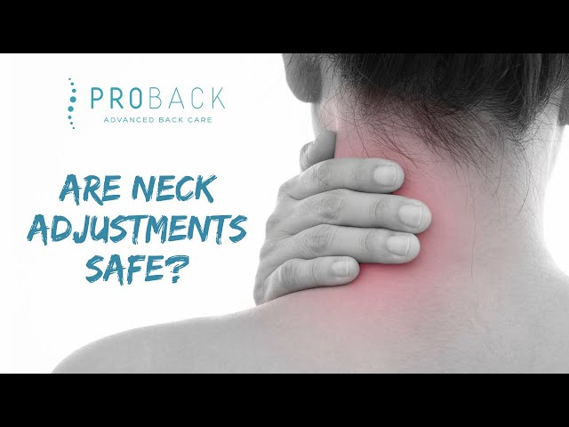 QCQ - Quick Chiro Questions | Are neck adjustments safe? | ProBack Clinics