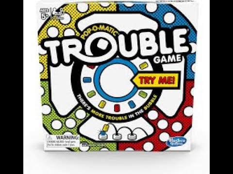 Играем в игру Trouble из Happy Meal