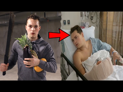 REAL LIFE FRUIT NINJA *PART 2* (DON'T TRY THIS)