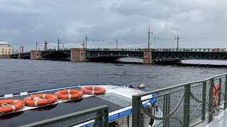 """""""Back to Old Petersburg"""" The Best Boat Cruise Trip in St Petersburg, Russia. Live"""