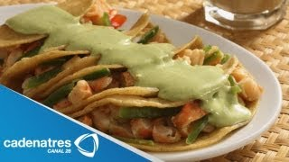 Enchiladas De Camarón / Receta Para Preparar Enchiladas