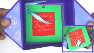 How to make Friendship special card /DIY Friendship Day Card / handmade card idea for FRIENDSHIP DAY