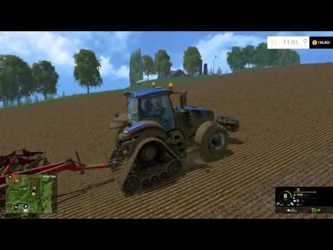 farming simulator 2015 harvesting a lot of barley