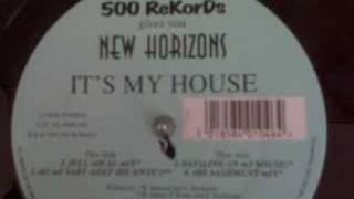 UK Garage New Horizons 'it's my house' (full vocal mix)