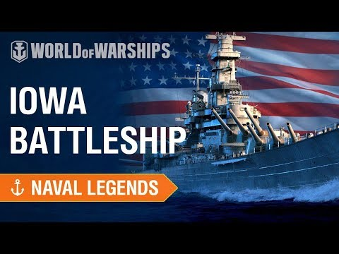 naval-legends:-iowa-vs-yamato-&-tirpitz-|-world-of-warships
