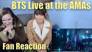 BTS Live at the American Music Awards! (Fan Reaction) thumbnail