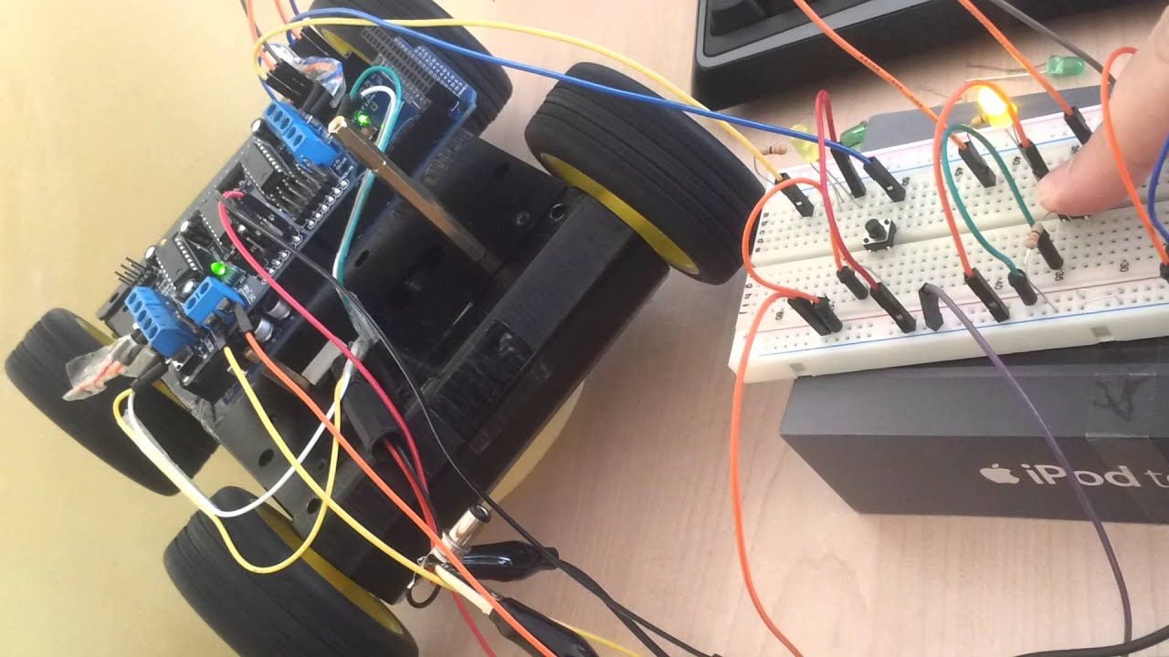 Arduino Dc Motor Movement Control With Buttons With