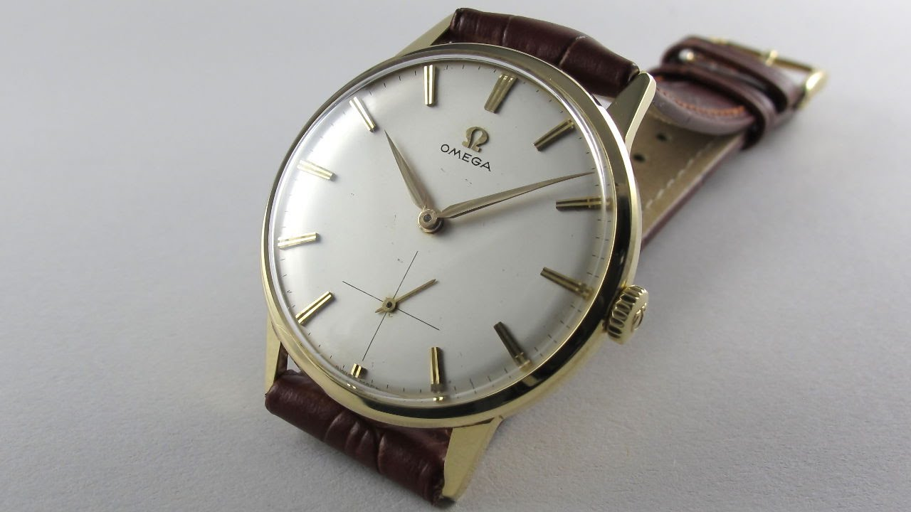e710de5ca00 Gold Omega Ref. 14715 -2 vintage wristwatch