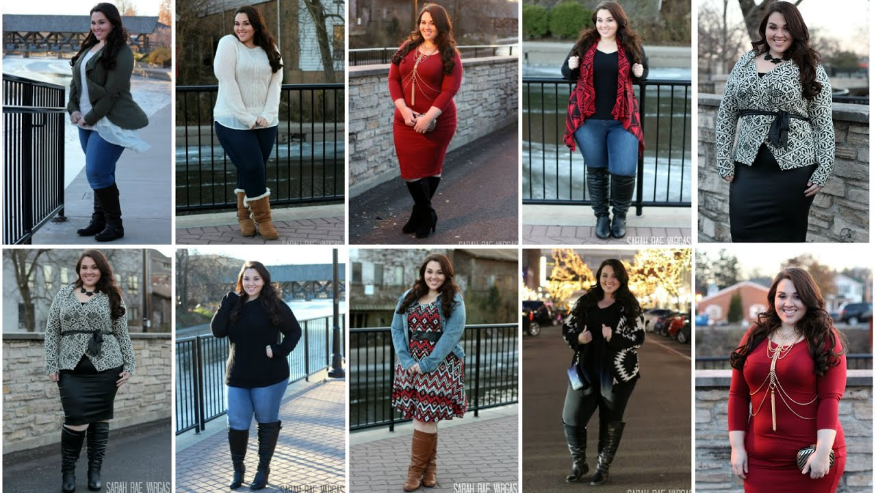 Wide Calf Boots Lookbook [8 Full Outfits] | Plus Size Fashion ...