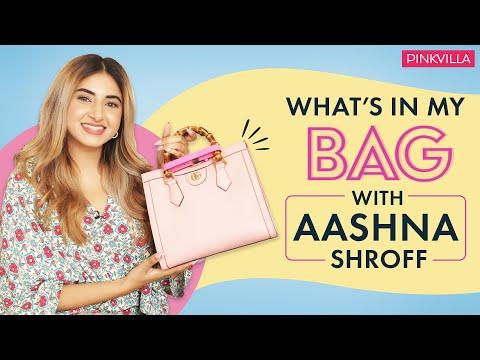 What's In My Bag With Aashna Shroff | Fashion | Beauty | Pinkvilla - Видео онлайн