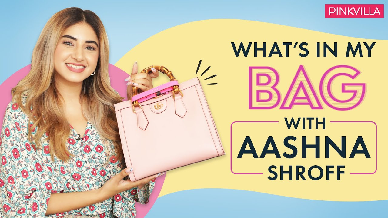 Download What's In My Bag With Aashna Shroff | Fashion | Beauty | Pinkvilla