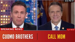 Andrew and Chris Cuomo Call Mom
