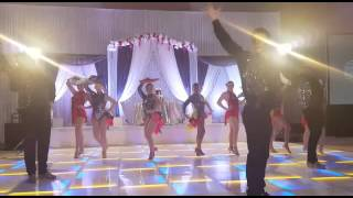 Sweet 16 Latin Dance Performance by Calirumba