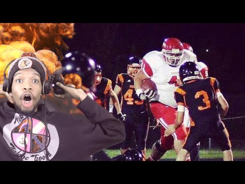 ARE YOU KIDDING ME!? 400 POUND HIGH SCHOOL RUNNING BACK REACTION!!