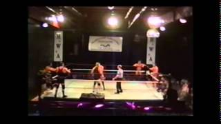 Quinten Lee & Cody Hawk & Matt Stryker vs Chad Collyer & Rory Fox & Tracy Smothers