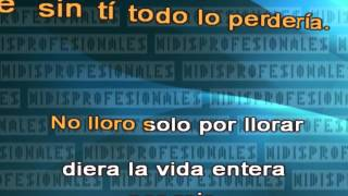 Sin Sentimiento - Grupo Niche - Salsa // DEMO VIDEO KARAOKE MIDI MP3 INSTRUMENTAL