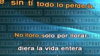 Sin Sentimiento - Grupo Niche - Salsa // DEMO VIDEO KARAOKE MIDI MP3 INSTRUMENTAL