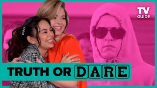 The Perfectionists Stars Play Truth or Dare Jenga