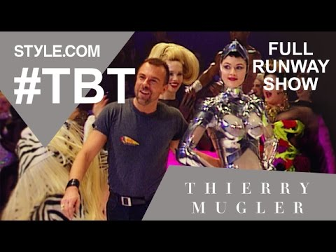 Thierry Mugler's 20th Anniversary Full Runway Show  #TBT with Tim Blanks  Stylecom