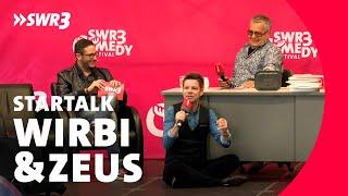 Zeus & Wirbitzky im Live-Talk mit Jontsch
