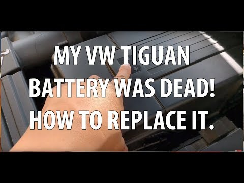 VW/Volkswagen Tiguan Knowing When Your Battery is About to Die & How to Replace a Dead Battery