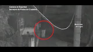 Armado con un cuchillo, intentó robar en una vivienda y las cámaras lo captaron fue detenido por el