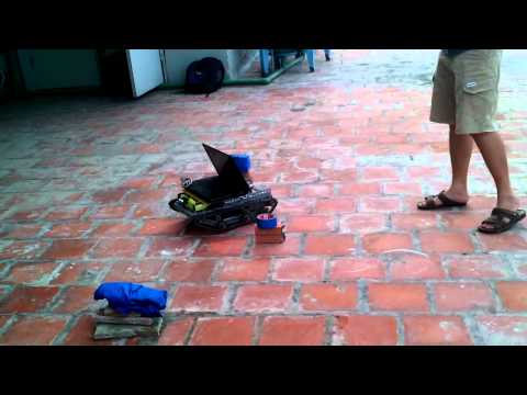 Final thesis - Mobile Robot avoiding obstacles  v1.1