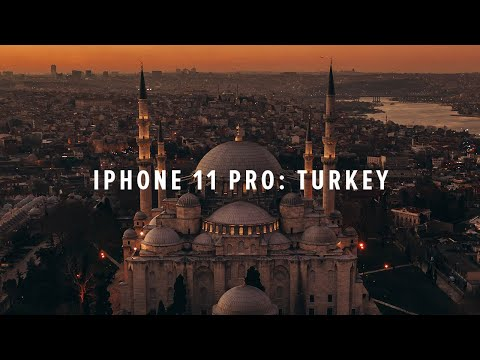 iPhone 11 Pro Cinematic 4K: Turkey