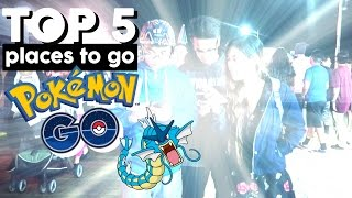 TOP 5 PLACES TO POKEMON GO IN SOUTHERN CALIFORNIA (VLOG #36)