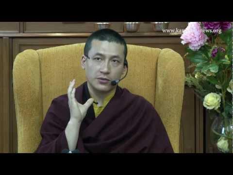 H.H. the 17th Karmapa: Teaching about Meditation