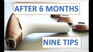PHILIPS LUMEA What Happens after SIX months Face &amp Body hair reduction (REVIEW &amp D ...