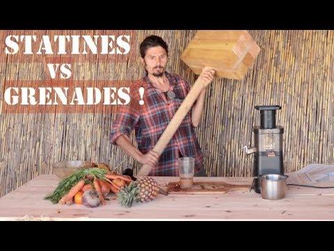 Grenades VS statines - un jus pour soigner le système cardio vasculaire - regenere.org