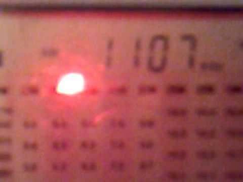 1412201412729 MW 1107 kHz - Xinjiang RGD Kazakh radio